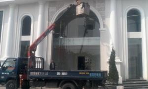 Cho thuê xe cẩu nâng người tại Hà Nội
