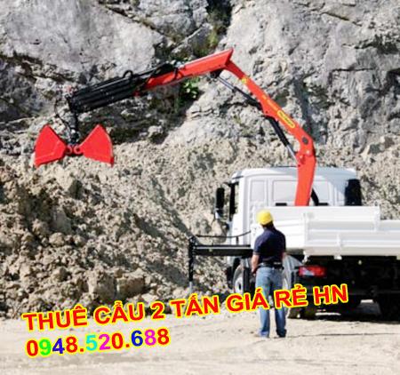 Thuê xe cẩu 1 tấn mỹ đình