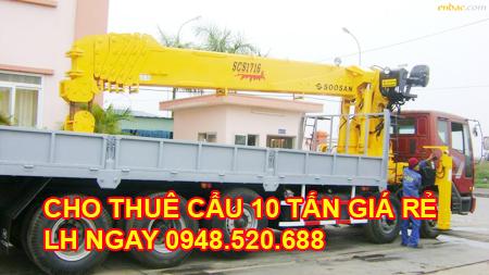 Ô tô cẩu hàng 10 tấn giá rẻ